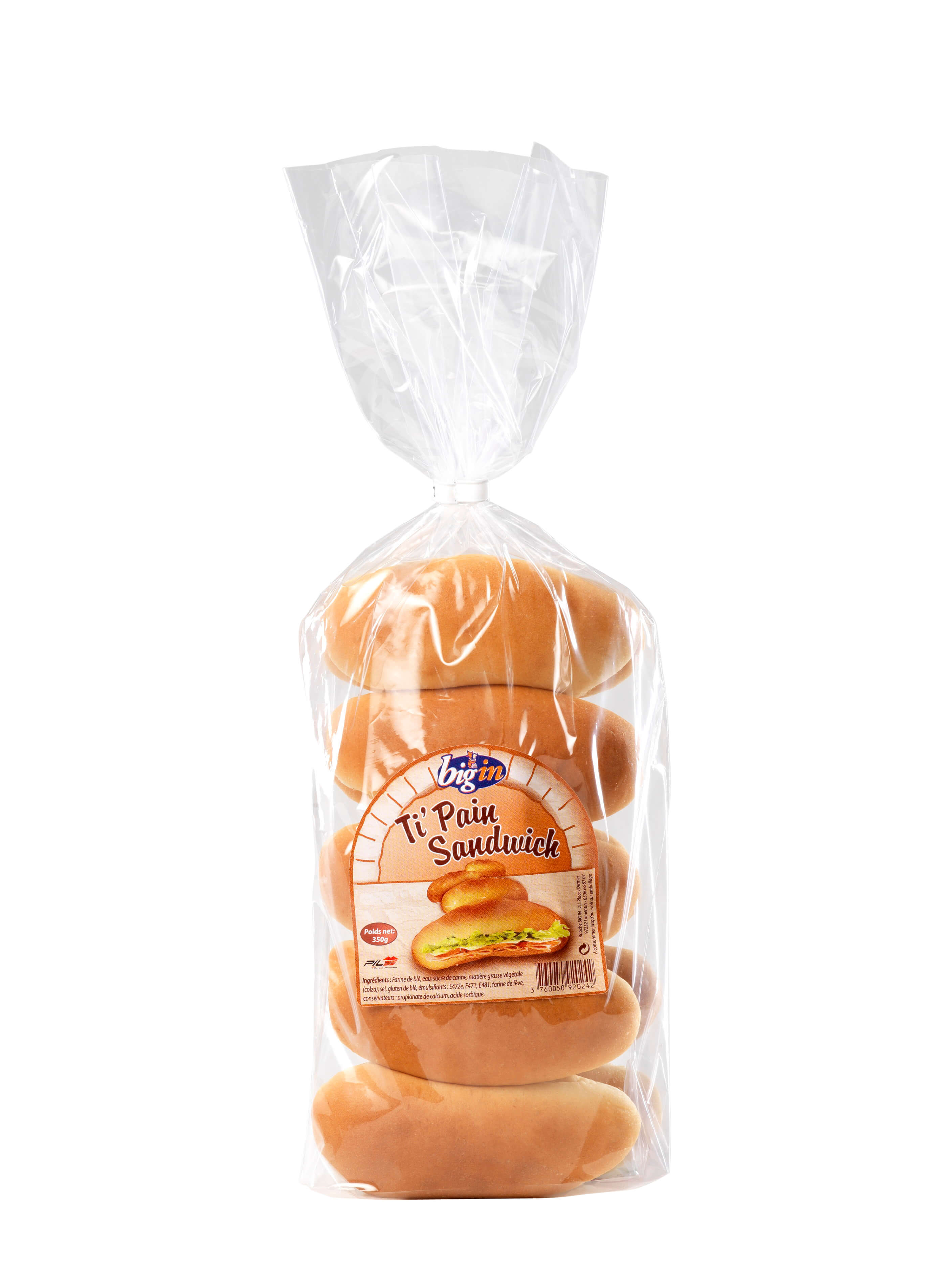 Brioche Big'in - Ti'Pain Sandwich